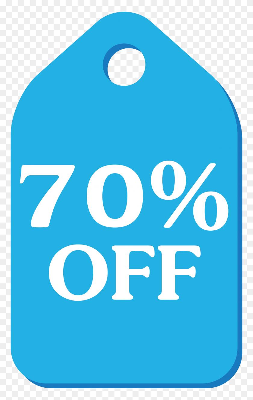 Blue Discount Tag Png Clip Art - Discount Clipart