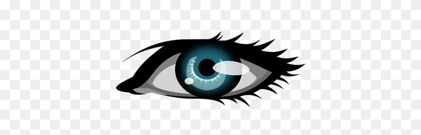 Blue Eyes Clipart Goofy - Crazy Eyes Clipart
