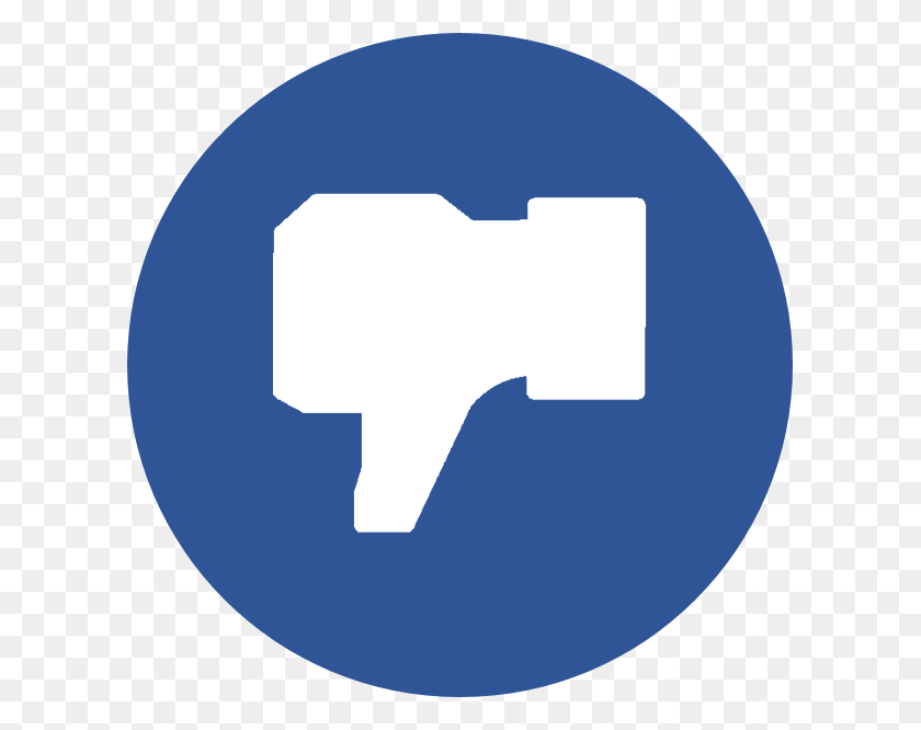 Blue Facebook, Dislike, Facebook, Facebook Dislike, Facebook Like - Facebook Like Icon PNG