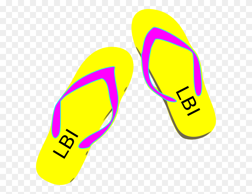 Blue Flip Flop Clip Art New Blog - Flip Flop Clipart