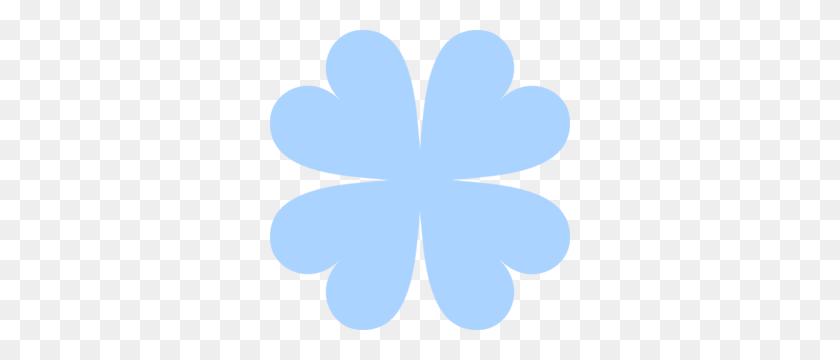 Blue Four Leaf Clover Clip Art - Four Leaf Clover Clip Art