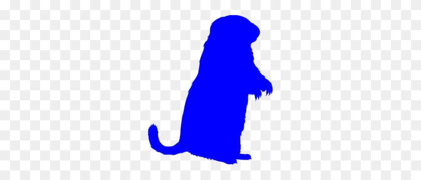 Blue Groundhog Clip Art - Free Groundhog Clipart