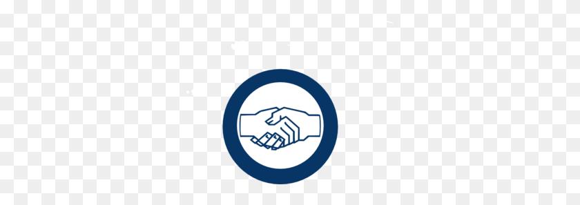 Blue Hand Shake Clip Art - Shake Hands Clipart