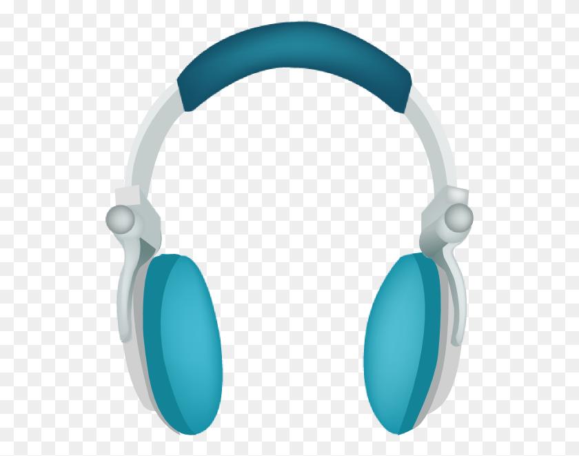 Blue Headphones Png, Clip Art For Web - Headphones Clipart