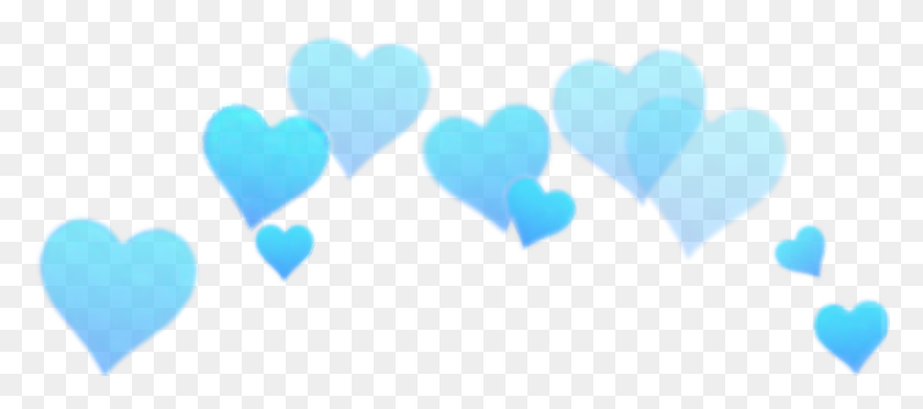 Blue Heart Bynisha Interesting Snapchat Filter Hd Awsom - PNG Snapchat Filters