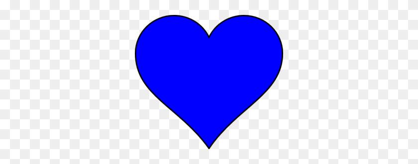 Blue Heart Shape Clip Art - Heart Shape PNG