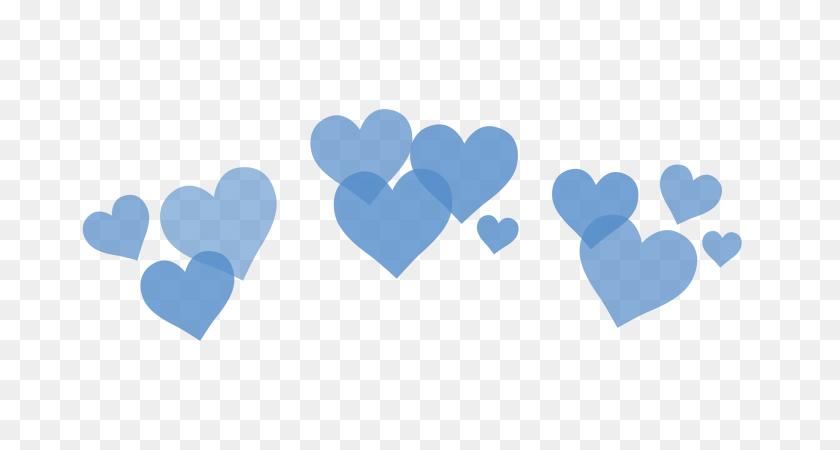 Blue Hearts Corazones Heart Corazon Emoji Whatsapp Love - Blue Heart PNG