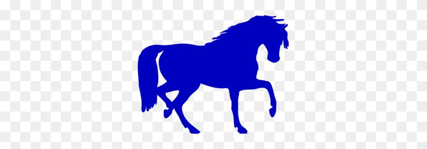Blue Horse Silhouette Clip Art Horses Horse Silhouette - Pasture Clipart