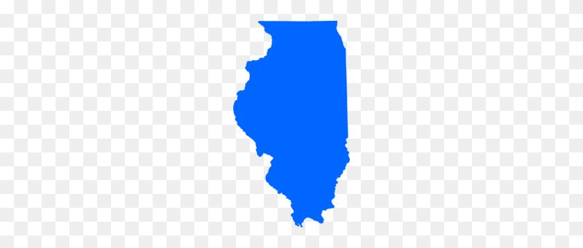 Blue Illinois Clip Art - Illinois Clip Art