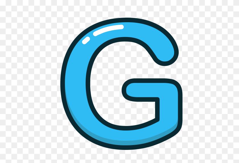 Blue Letters - Magnetic Letters Clipart