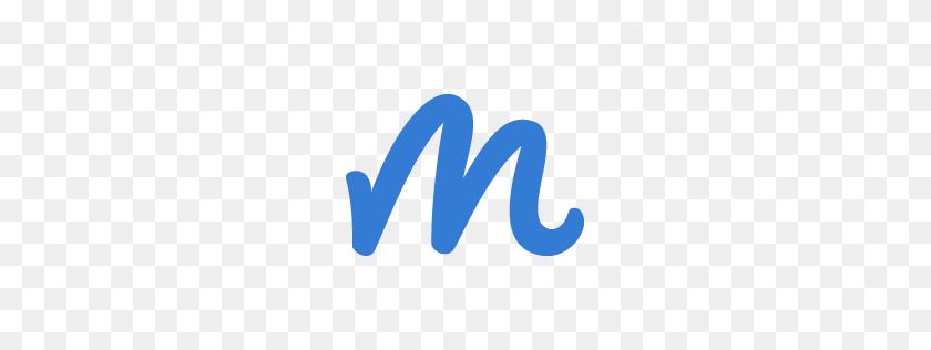 256x256 Blue M Logos - M Logo PNG
