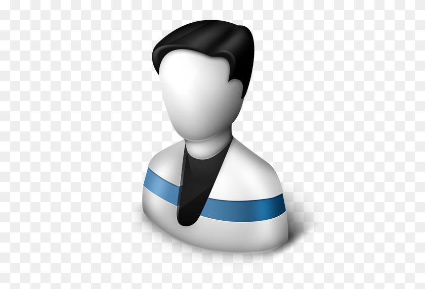 Blue, Male, Man, Running, User Icon - Man Running PNG