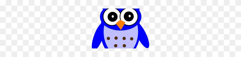 Blue Owl Clip Art Blue Owl Vector Owl Clipart Blue Blue Png - Owl Clipart PNG