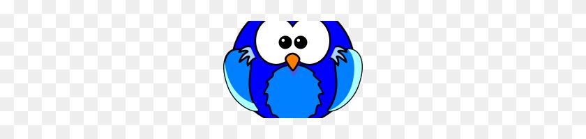 Blue Owl Clip Art Blue Owl Vector Owl Clipart Blue Blue Png - School Owl Clipart