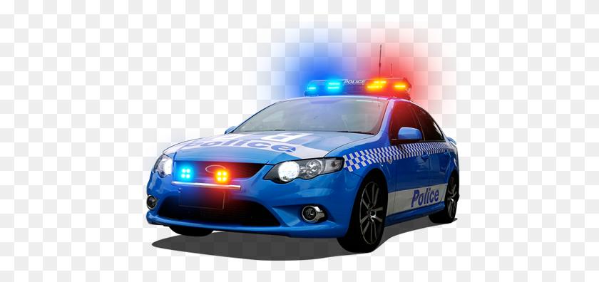 Blue Police Car Png Transparent Blue Police Car Images - Police Lights PNG