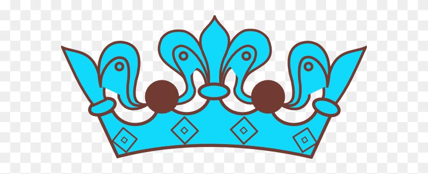 600x282 Blue Prince Crown Clip Art, Blue Crown Clip Art - Prince Crown Clipart