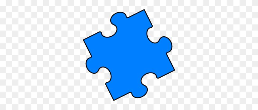 Blue Puzzle Piece Clip Art Puzzle Ideas Puzzle - Jigsaw Puzzle Clipart
