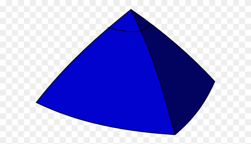 Blue Pyramid Clip Art - Pyramid Clip Art