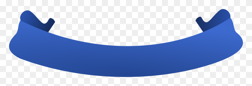 2245x656 Blue Ribbon Clip Art Digital - Lookout Clipart
