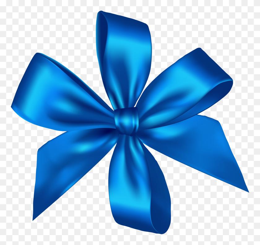 Blue Ribbon Clipart - Ribbon Bow Clipart