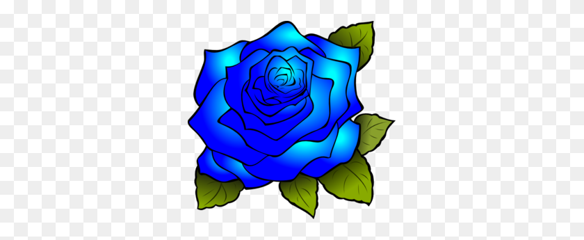 Blue Rose Border Clipart Free Clipart - Rose Border Clipart
