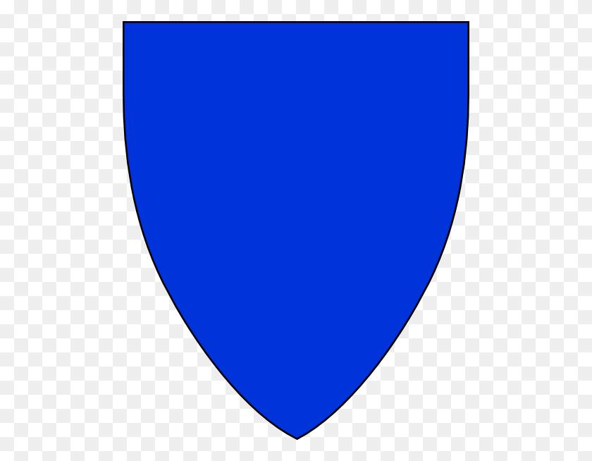 Blue Shield Clip Art Free Vector - Shield Clipart Free