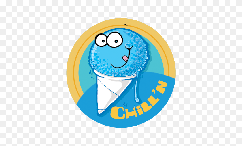 Blue Snowcone Dr Stinky Scratch N Sniff Stickers Everythingsmells - Snow Cone Clip Art
