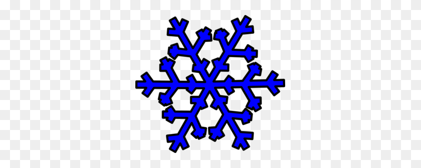 Blue Snowflake Cliparts - Snowflakes Falling Clipart