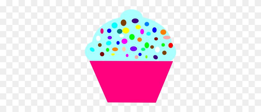 Blue Sprinkles Clipart, Vanilla Donut With Sprinkles - Sprinkles Clipart