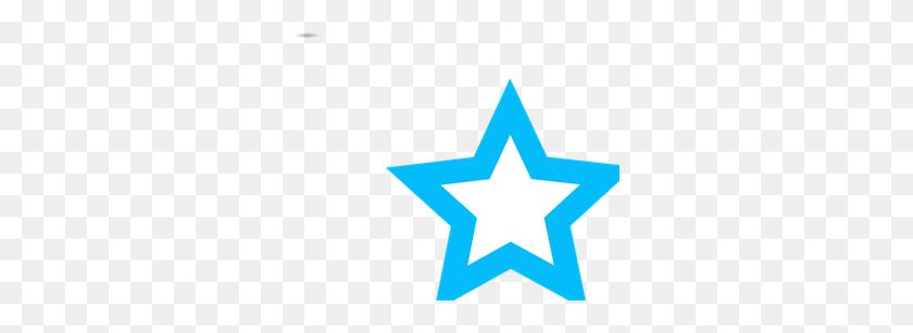 Blue Star Outline Png, Clip Art For Web - Star Outline PNG