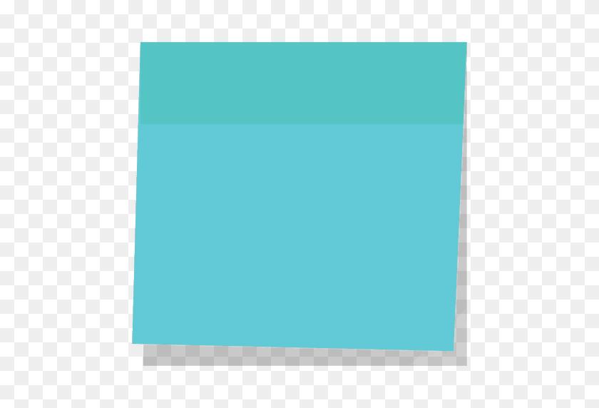 Blue Sticky Note - Note PNG