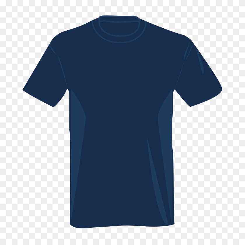 Blue T Shirt Cliparts - Long Sleeve Clipart