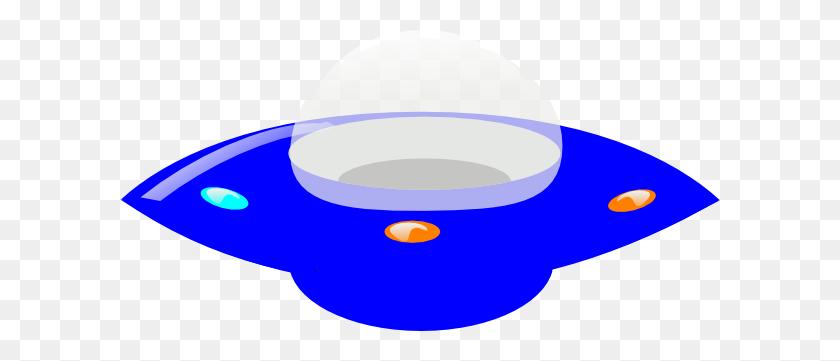 Blue Ufo Clip Art - Ufo Clipart