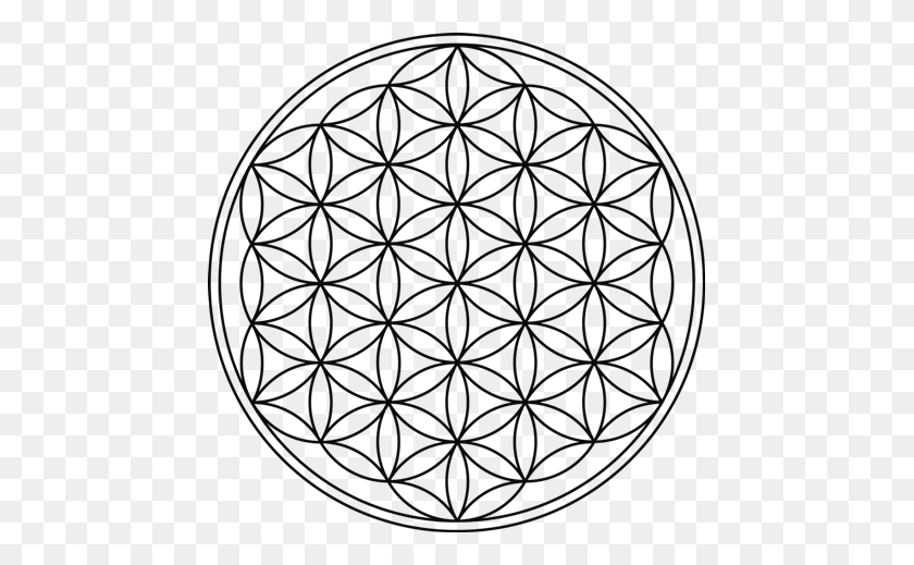 457x459 Blume Des Lebens Best Tattoos Sacred Geometry, Tattoos, Sacred - Sacred Geometry PNG