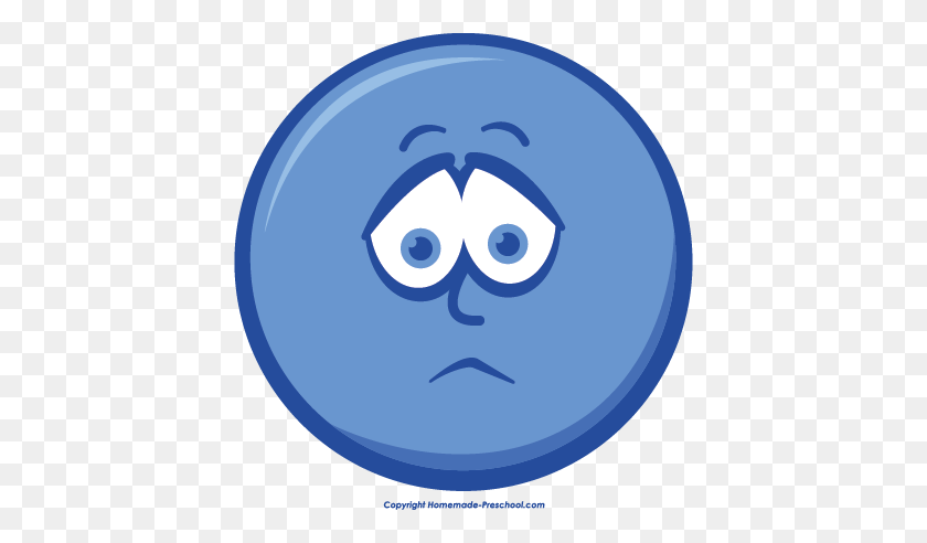 Blur Clipart Sad Face - Sad Face Clipart Transparent