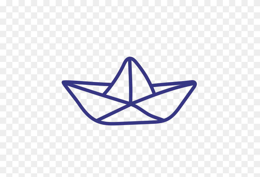 Boat, Paper, Ship, Toy Icon - Paper Boat PNG