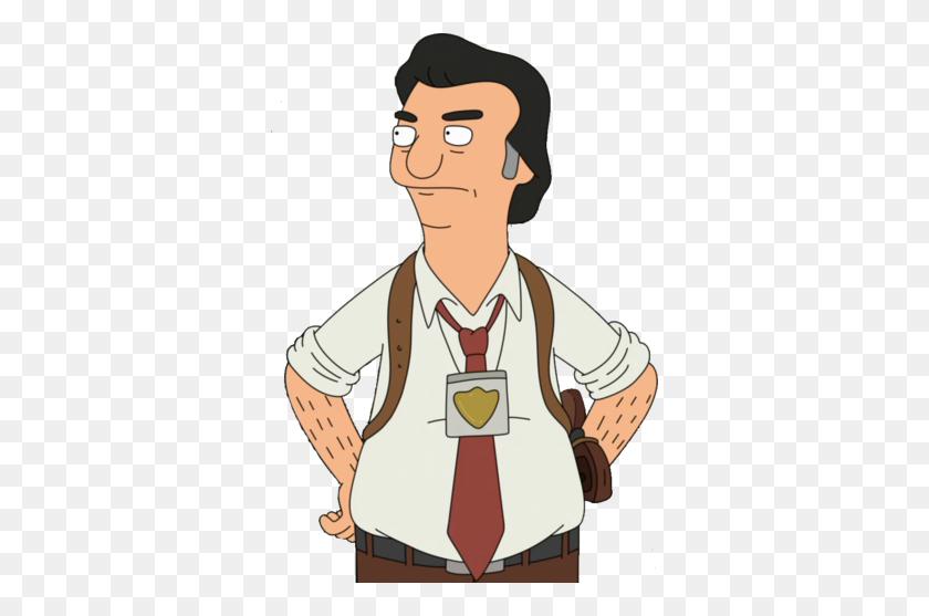 Bob's Burgers Characters - Male Nurse Clipart