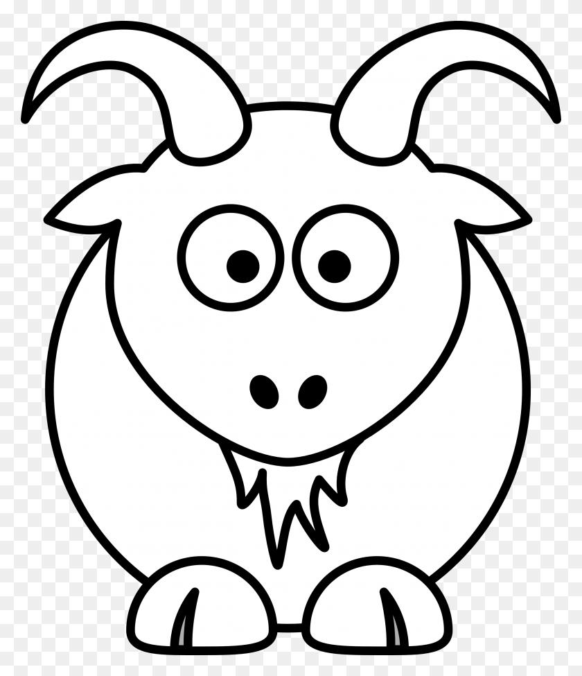 Boer Goat Outline Image Clip Art - Boer Goat Clip Art