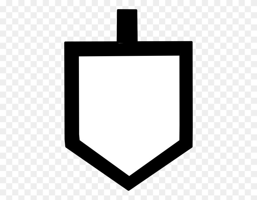 Bold Dreidel Shape Clip Art - Dreidel Clipart