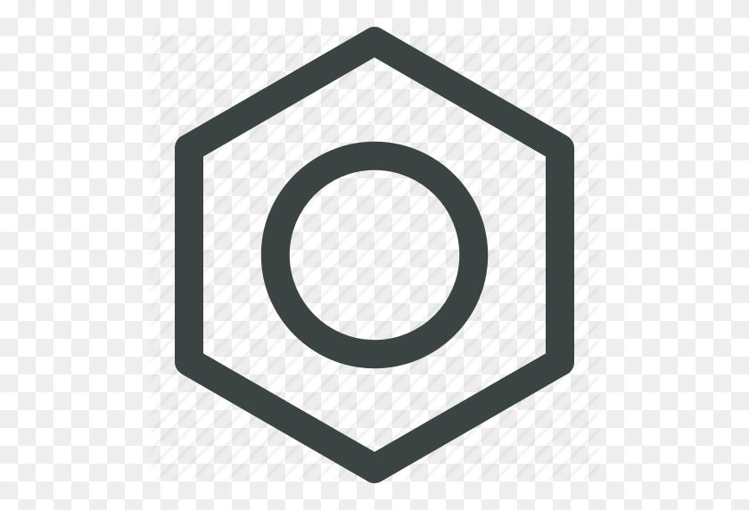 Bolt, Hardware, Head Bolt, Nut, Repair Icon Icon - Bolt Head PNG