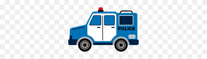 286x180 Bombeiros E - Police Car Clipart