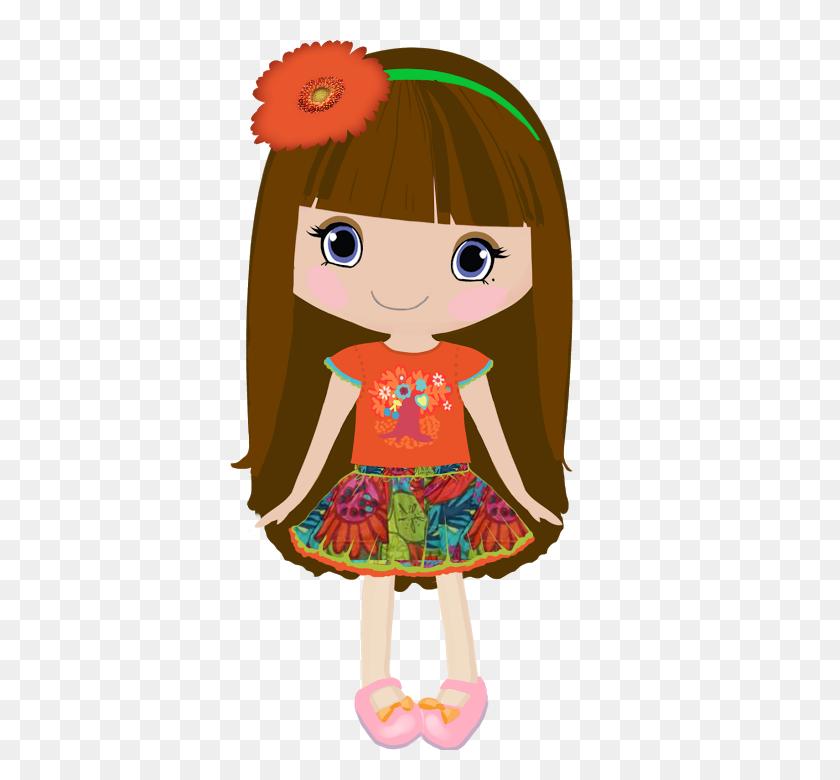 Bonecas - Anime Girl Clipart