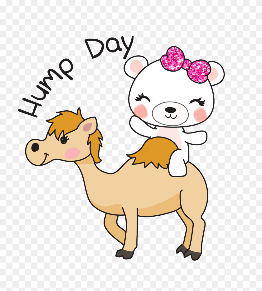 Boo Bear Hump Day Dek Designs - Hump Day Camel Clipart