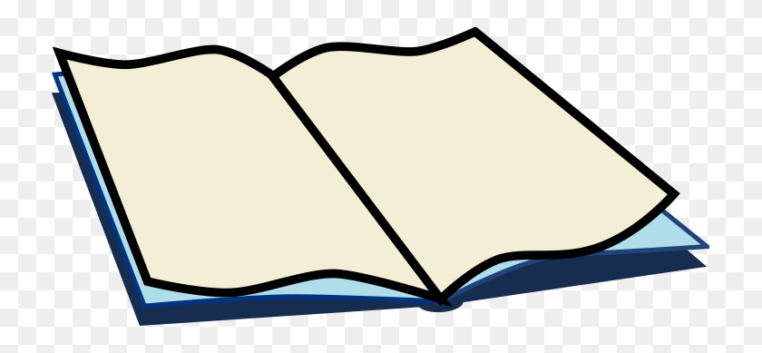 725x329 Book Clip Art Free Free Open Book Clipart Open Book Image - School Books Clipart