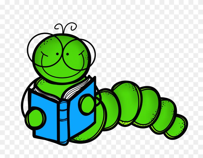 Book Worm Clip Art - Transparent Book Clipart