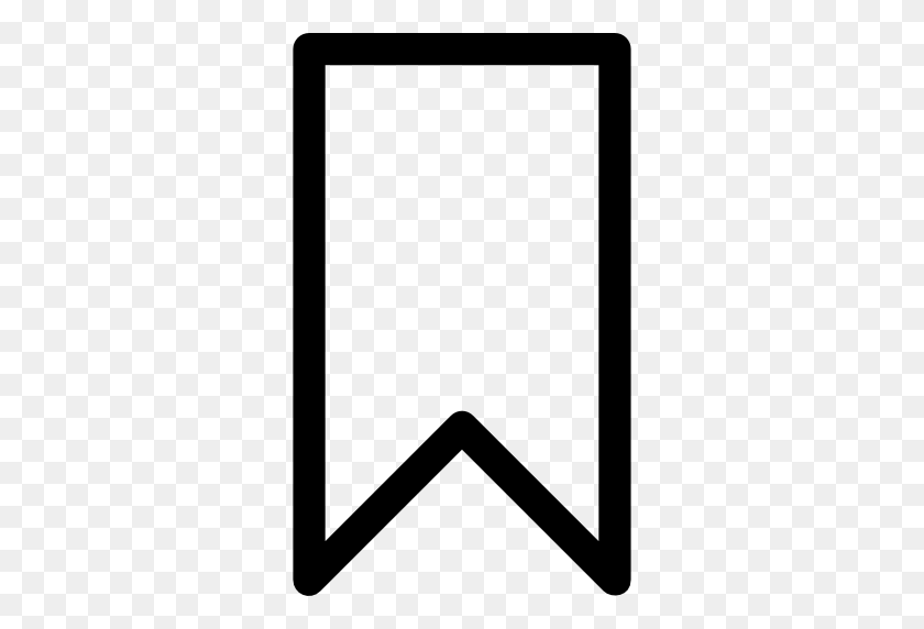 Bookmarks, Bookmark, Interface, Banner, Ribbon, Ribbons, Banners Icon - Black Ribbon Banner PNG