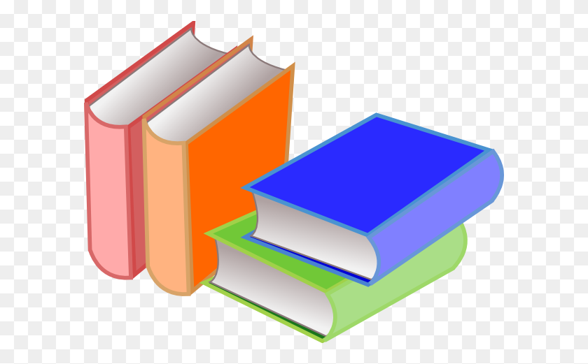 Books And Backpack Clip Art - Books Images Clip Art