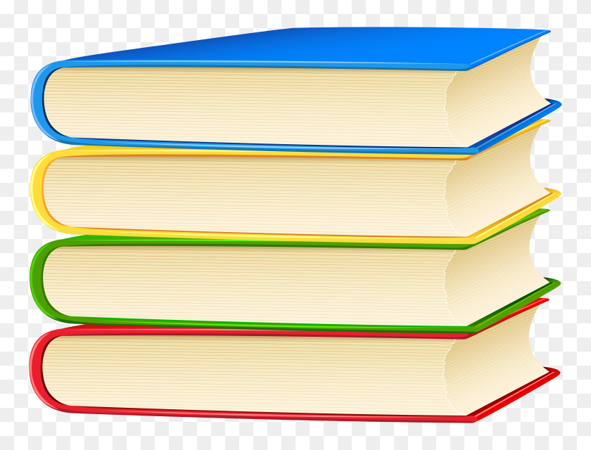 Books Png Clip Art - Transparent Book Clipart