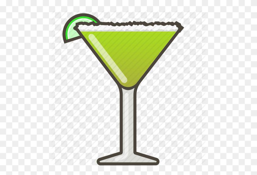 Boose Clipart Green Drink - Margarita Clip Art Free