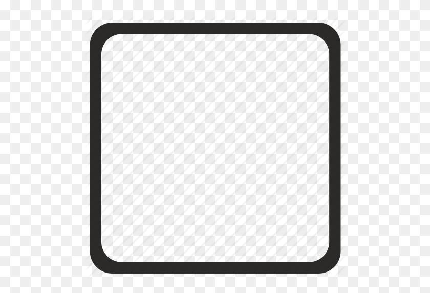 Border, Element, Frame, Square, Ui Icon - Modern Border PNG
